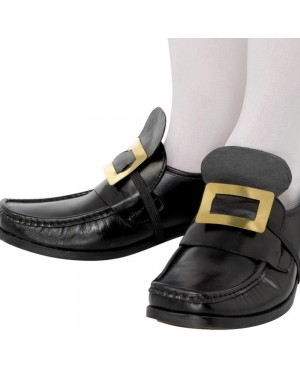 Gold Shoe Buckle at Fancy Dress and Party