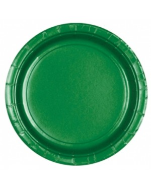 Green Paper Plates at Fancy Dress and Party