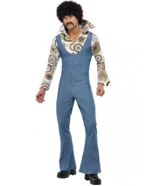 Groovy Disco Dancer Front at Fancy Dress and Party