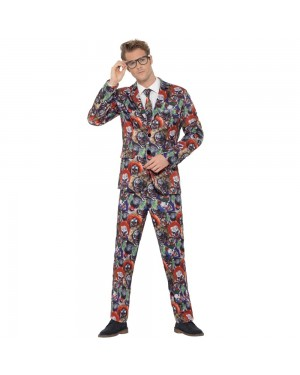 Halloween Standout Suit Front View at Fancy Dress and Party