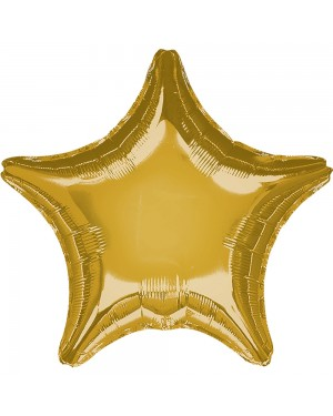 Helium Gold Star Balloon at Fancy Dress and Party
