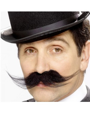 Inspector Moustache at Fancy Dress and Party