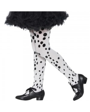 Kids Dalmatian Tights at Fancy Dress and Party