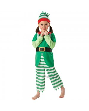 Kids Elf Costume at Fancy Dress and Party