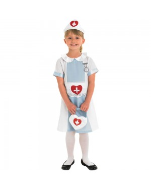 Kids Nurse Girl at Fancy Dress and Party