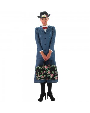 Ladies Mary Poppins Costume at Fancy Dress and Party