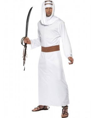 Lawrence of Arabia Costume Front View at Fancy Dress and Party