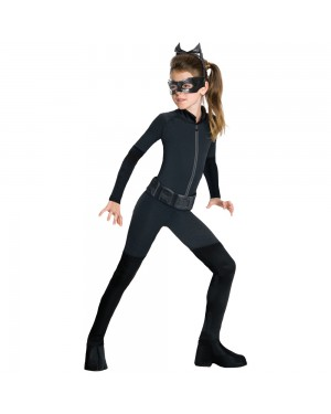 Licensed Kids Catwoman Costume Tween at Fancy Dress and Party