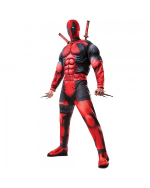 Mens Deadpool Costume at Fancy Dress and Party