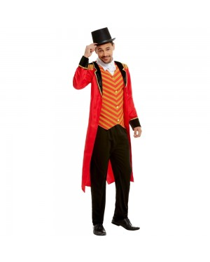 Mens Ringmaster Costume at Fancy Dress and Party