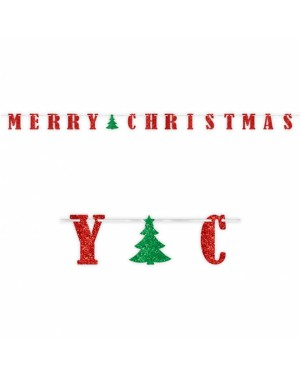 Merry Christmas Banner at Fancy Dress and Party