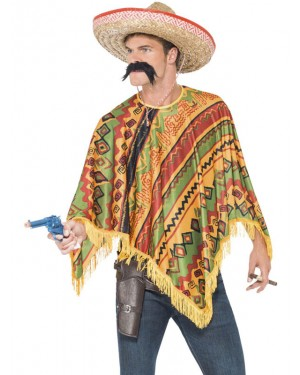 Mexican Poncho Kit at Fancy Dress and Party