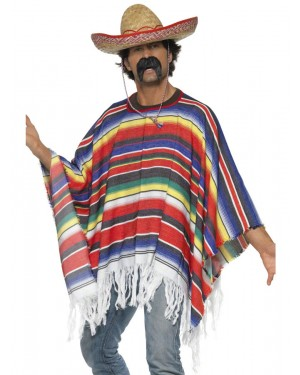 Mexican Poncho at Fancy Dress and Party