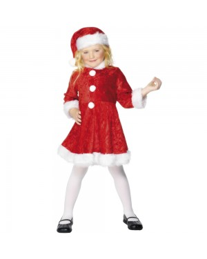 Mini Miss Santa Costume at Fancy Dress and Party