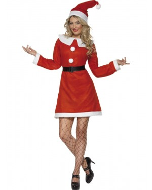 Miss Santa Costume at Fancy Dress and Party