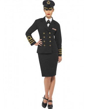 Navy Costume Front View at Fancy Dress and Party