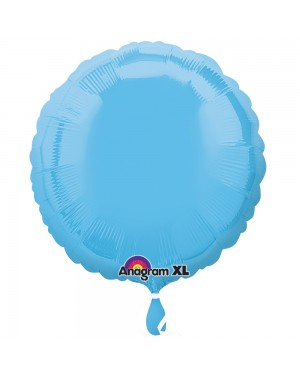Pale Blue Foil Balloon at Fancy Dress and Party