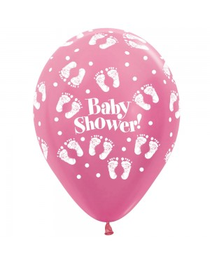 Pink Baby Shower Balloons at Fancy Dress and Party