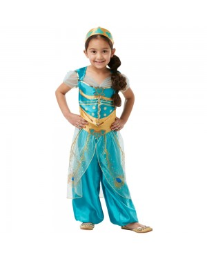 Princess Jasmine Costume Front View at Fancy Dress and Party