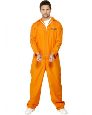 Prisoner Costume at Fancy Dress and Party