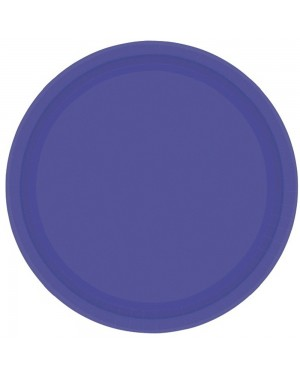 Purple Paper Plates at Fancy Dress and Party