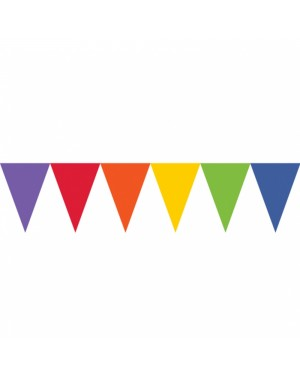 Rainbow Paper Bunting at Fancy Dress and Party