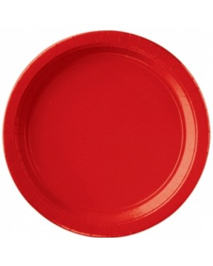 Red Paper Plates at Fancy Dress and Party