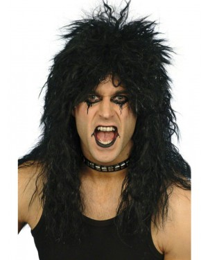 Rocker Wig at Fancy Dress and Party