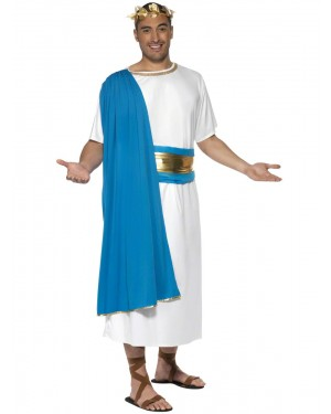 Roman Senator Costume Front at Fancy Dress and Party