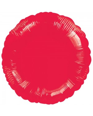Round Red Foil Balloon at Fancy Dress and Party