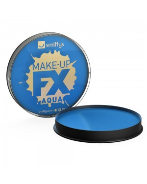 Royal Blue Facepaint at Fancy Dress and Party