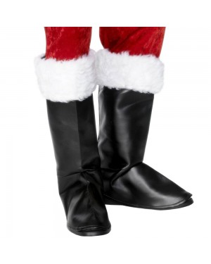 Santa Boot Covers at Fancy Dress and Party