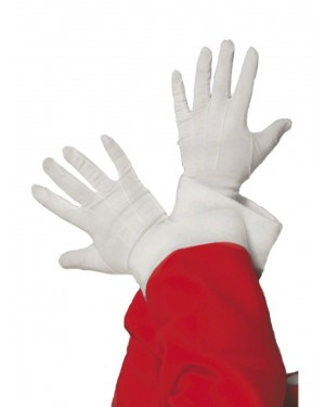 Santa Claus Gloves at Fancy Dress and Party