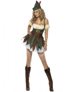 Sexy Outlaw Costume Front at Fancy Dress and Party