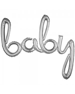 Silver Baby Balloon at Fancy Dress and Party