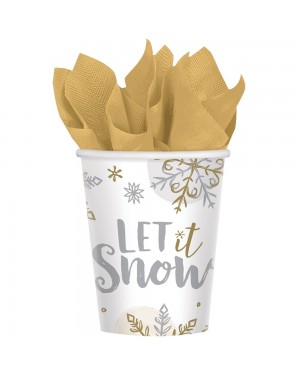 Snowflake Paper Cups at Fancy Dress and Party