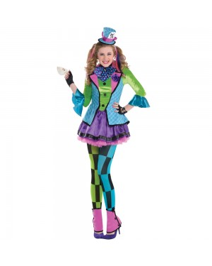 Teen Mad Hatter Costume at Fancy Dress and Party