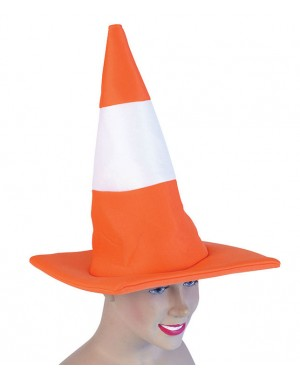 Traffic Cone Hat at Fancy Dress and Party