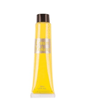 Tube of Yellow Cream Face Paint at Fancy Dress and Party