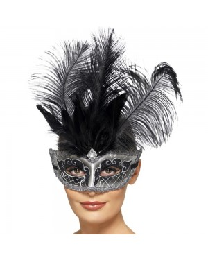 Venetian Masquerade Mask at Fancy Dress and Party