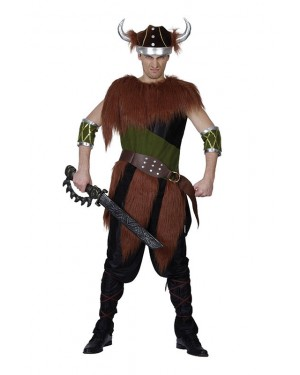 Viking Warrior Costume at Fancy Dress and Party