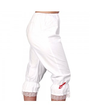 White Bloomers at Fancy Dress and Party