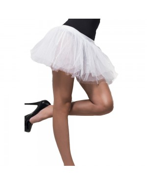 White Tutu Underskirt at Fancy Dress and Party