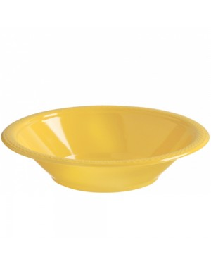 Yellow Plastic Bowls at Fancy Dress and Party