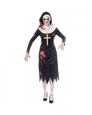 Zombie Nun at Fancy Dress and Party