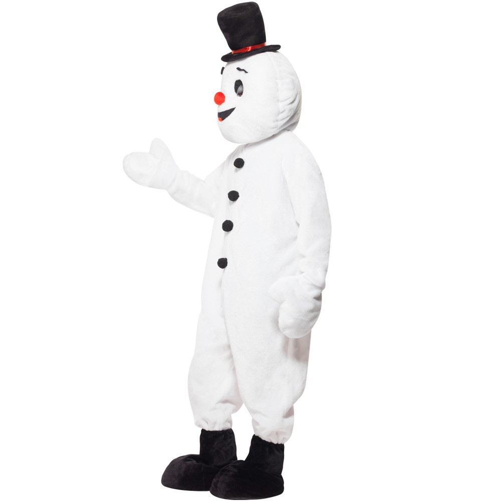 Fancy Snowman Mascot Costumes Uk Christmas Party Costumes