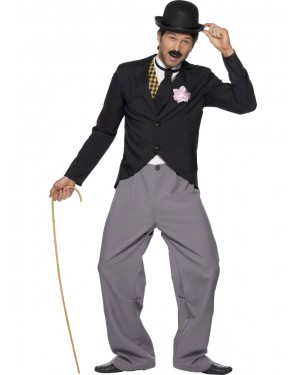 20s Movie Star Costume Front View at Fancy Dress and Party