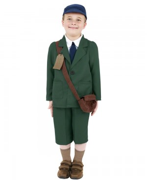 Boys Evacuee Costume