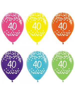 40th Birthday Balloons at Fancy Dress and Party
