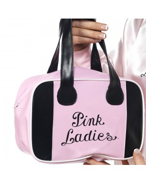 50s Grease Pink Ladies Bag at Fancy Dress and Party